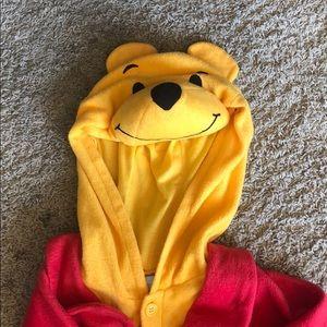 Pooh Bear Onesie